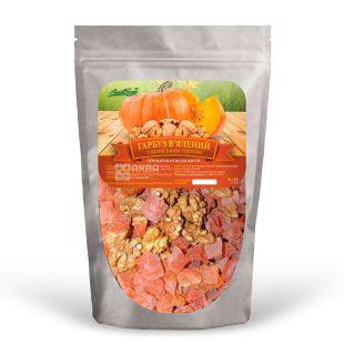 Sweet Energy Dried Pumpkin with Walnut, 100 g