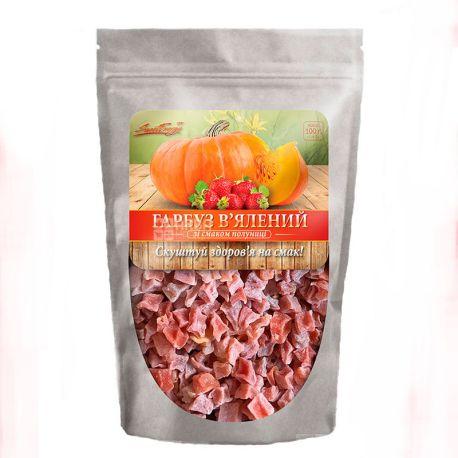 Sweet Energy Тыква вяленая со вкусом клубники, 100 г