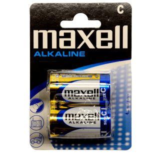 Maxell Alkaline LR-14 2PK, Батарейки, 2 шт.