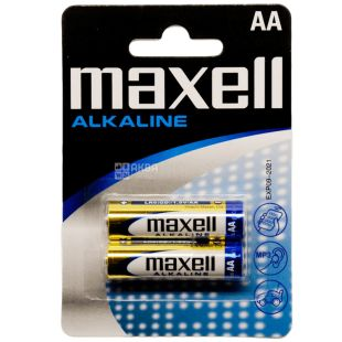 Maxell Alkaline LR-6, Батарейки, 2 шт.