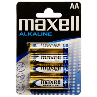 Maxell LR-6 Battery, 4 pcs.
