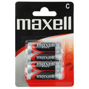 Maxell R14 Battery, 2 pcs.