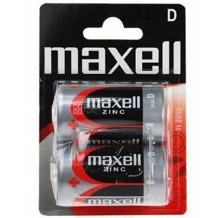 Maxell Batteries R-20 2PK 2 pcs.