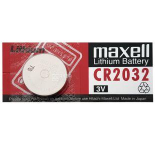 Maxell Батарейка CR2032