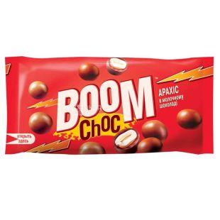 Бум Чок арахис в молочном шоколаде, 45 г