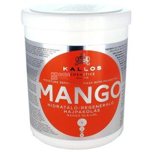 Kallos, Маска для волос, С маслом манго, 1 л