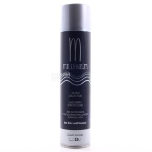 Millenium hairspray, With green tea extract, 250 ml