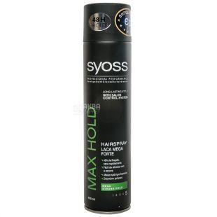 Syoss Max Hold, Лак для волосся, 400 мл