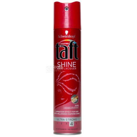 Taft, Лак для волос, Сияние бриллиантов, 250 мл