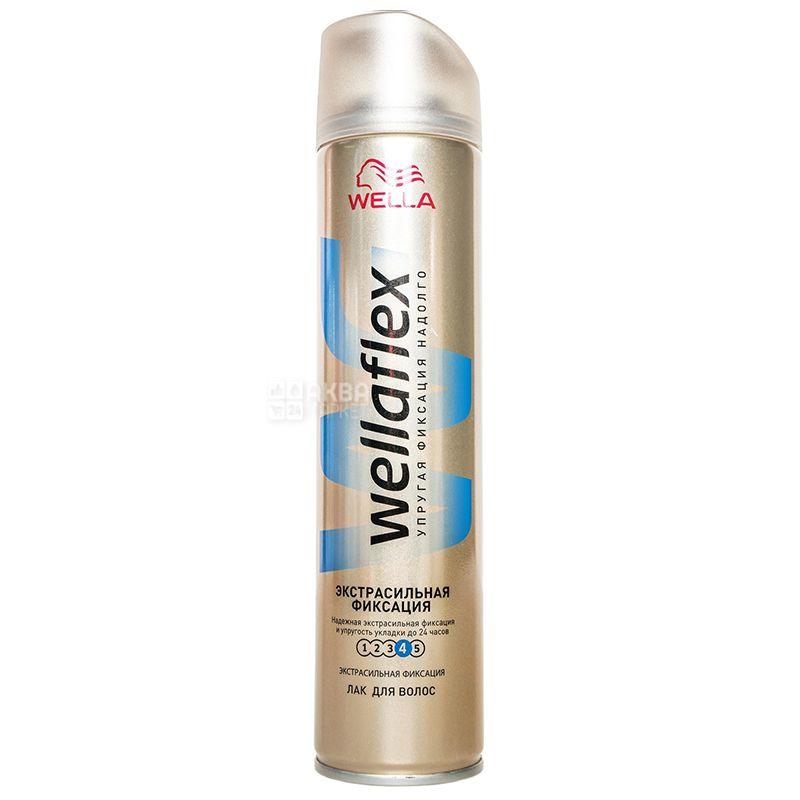 Wella Wellaflex, Лак для волос, Экстрасильная фиксация, 250 мл