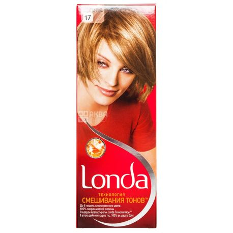 Londa Color Технология смешения тонов, Крем-краска для волос, Тон 17, Светло-русый