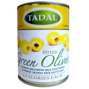 Pitted green olives, 280 g, TM Tadal
