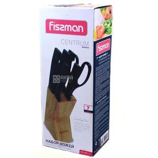 Fissman Centrum Набор ножей, нержавеющая сталь, 7 принадлежностей