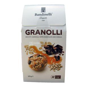Bandinelli Granolli, Печиво з шоколадом і злаками, 125 г