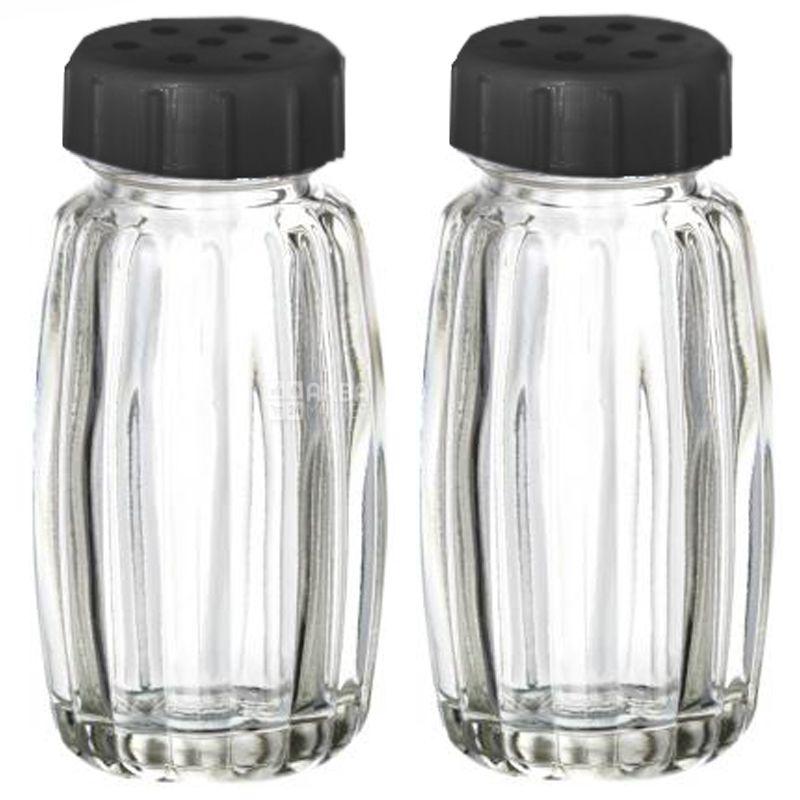 Everglass, Набор для специй, 2 шт., 9х4 см