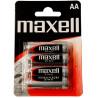 Maxel, R-6 4PK Batteries, 4 pcs