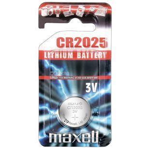 Maxel, CR2025 Batteries, 1 pc