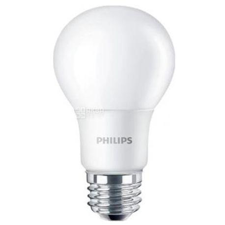 Филипс Лампа светодиодная LEDBulb E27 5-40W 230V 6500K A60