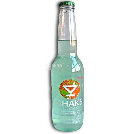 Shake Напиток Basil Beauty, Слабоалкогольный, 7,0 %, 0,33 л
