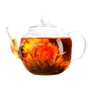 Чайник Fissman, заварочный, со стальным фильтром, 1 л