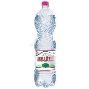 Девайтис, Вода минеральная негазированная, 1,5 л