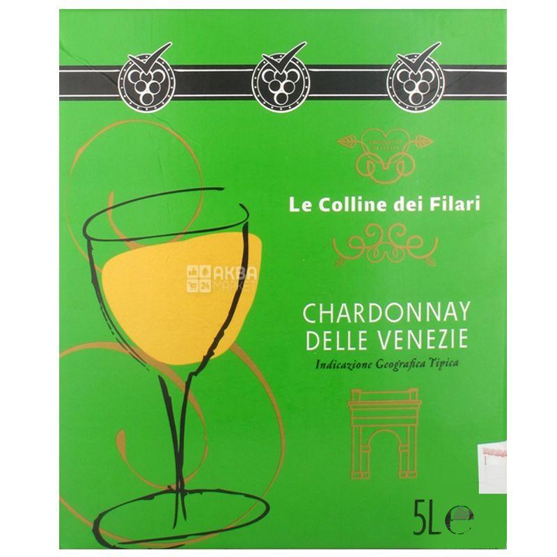 Le Colline dei Filari Chardonnay delle Venezie Вино белое сухое, 5 л