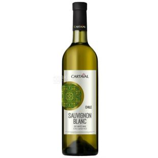 Cartaval Sauvignon Blanc Вино белое сухое, 0,75 л
