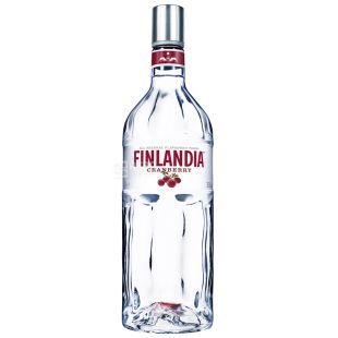 Finlandia, Водка, Клюква белая, 37,5%, 1 л