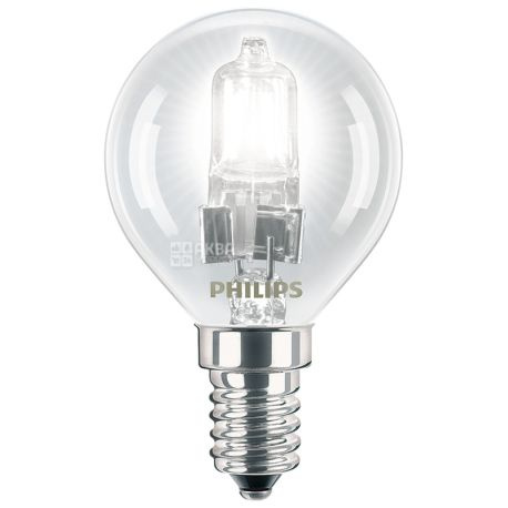 Philips Галогенная лампа E14 42W 230V P45 CL 1CT/20 EcoClassic