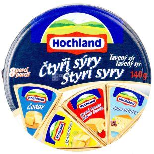 Hochland Сир плавлений 140 г, 4 Сира