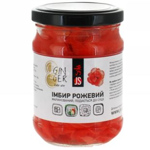 JS ginger pickled pink 240 g