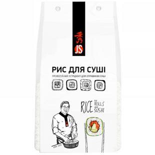 JS рис японский для суши Танадамаи 450 г