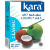 Kara, Coconut milk, 200 мл, Кара, Молоко кокосове, пастеризоване