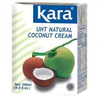 Kara, Coconut Cream 24%, 200 ml