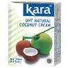 Kara, Coconut cream, 200 мл, Кара, Крем-сливки кокосовые, 24%
