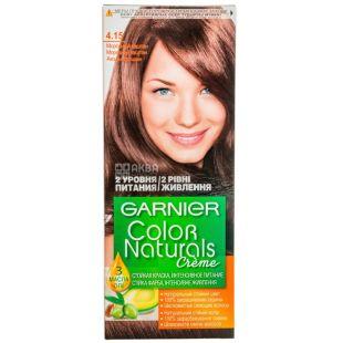 Garnier Color Naturals, Крем-краска для волос, Тон 4.15 Морозный каштан