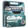 Gillette Mach 3, Сменные картриджи для бритья, Упаковка 2 шт.