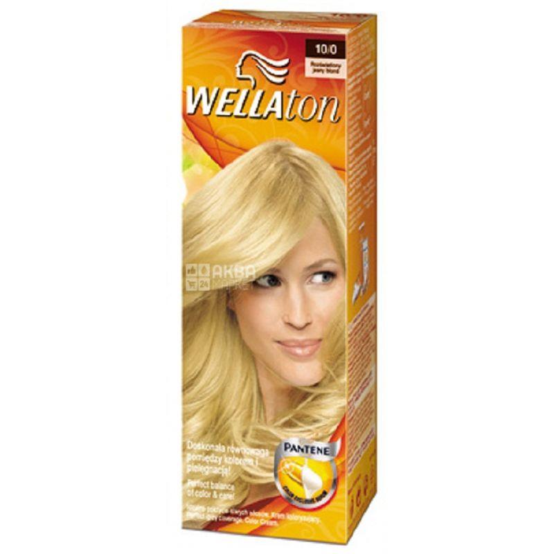 Wella Wellaton, Крем-краска для волос, Тон 10/0 Сахара