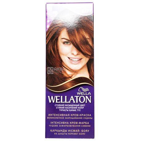 Wella Wellaton, Крем-краска для волос, Тон 5/77 Какао