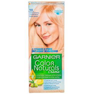 Garnier Color Naturals, Краска для волос, Тон 102 Снежный блонд