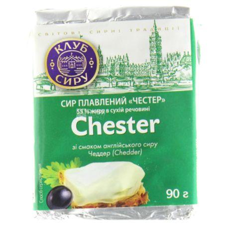 Клуб сыра Честер, Сыр плавленный, 90 г
