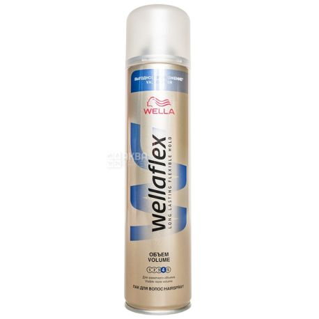 Wella Wellaflex, Лак для волос (4), Объём, 400 мл