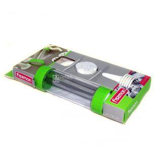 Шприц Fissman, кондитерский, 13 дисков для печенья, 6 насадок для крема