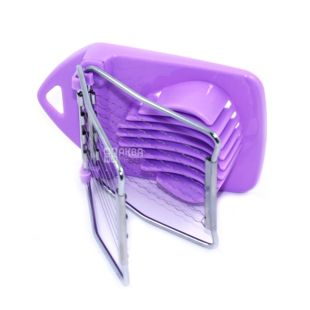 Egg cutter Fissman, two-position, lilac, stainless. steel