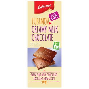 Lyubimov, Milk Chocolate, 85 g