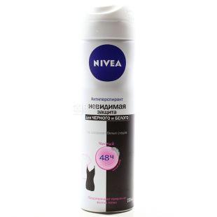 Nivea Clear, Захист для чорного і білого, Дезодорант-антиперспірант, 150 мл