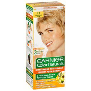 Garnier Color Naturals, Краска для волос, Тон 9.1 Солнечный пляж