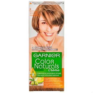 Garnier Color Naturals, Краска для волос, Тон 6 Лесной орех