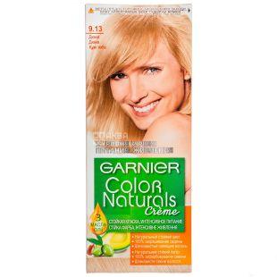 Garnier Color Naturals Cream,  Краска для волос, Тон 9.13 Дюна