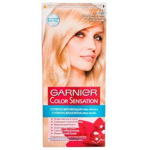 Garnier, Крем-краска для волос, 110 Бриллиантовый ультраблонд